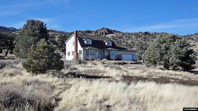 Gardnerville Single Family Home Active/Pending-Loan: 2923 Pine Valley Road