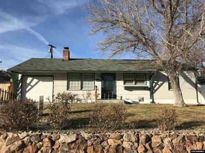 Reno Single Family Home For Sale: 865 Lodge Ave