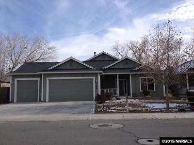 Fernley Single Family Home Active/Pending-Loan: 792 Canary Cir