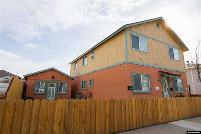 Reno Multi Family Home For Sale: 318 Wheeler
