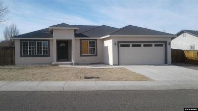 Fernley Single Family Home Active/Pending-Call: 749 Divot Drive