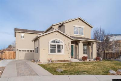 Sparks Single Family Home Active/Pending-Loan: 4065 Whispering Wind Pl