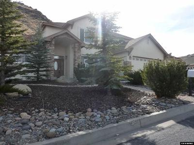 Carson City Single Family Home Active/Pending-Call: 2469 Kingsview Way
