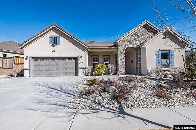 Reno Single Family Home For Sale: 1350 Walking Stick