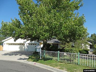 Sparks Single Family Home Active/Pending-House: 30 Miranda Court