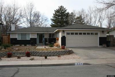 Carson City Single Family Home Active/Pending-Loan: 1924 Sunland Dr
