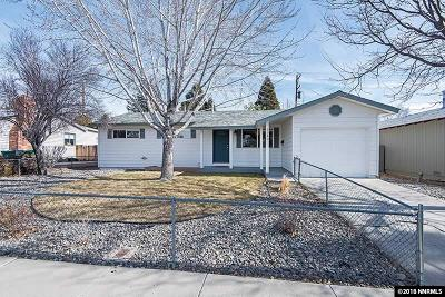 Sparks Single Family Home Active/Pending-Loan: 3340 Lucerne Way