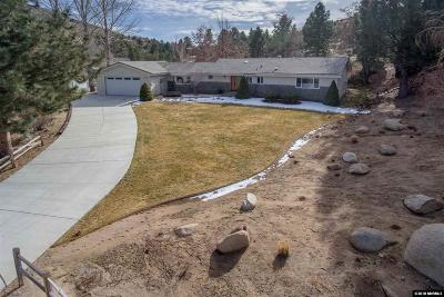 Carson City Single Family Home Active/Pending-Loan: 3783 Penny Lane