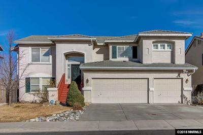 Reno Single Family Home For Sale: 214 River Flow