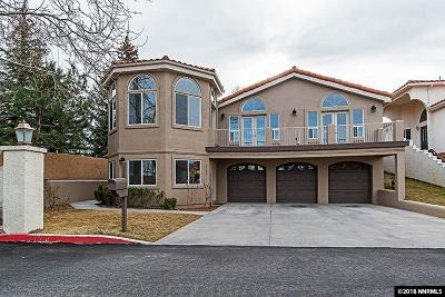 Reno Single Family Home Back On Market: 3185 Villa Marbella Circle
