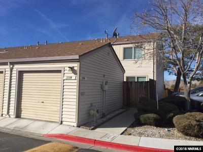 Reno Condo/Townhouse Active/Pending-Loan: 13914 Lear Blvd #46