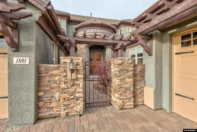 Washoe County Single Family Home Active/Pending-Loan: 1895 Champion Hills Drive