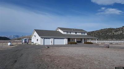 Gardnerville Single Family Home Active/Pending-Loan: 550 Old Toll Rd