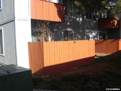 Reno Condo/Townhouse Active/Pending-Loan: 4608 Neil Rd. #227 #227 (bui