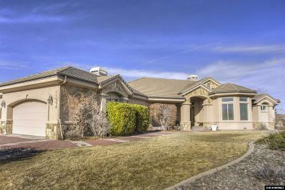 Reno Single Family Home Active/Pending-Loan: 10082 E Desert Canyon