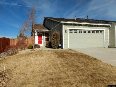 Reno Single Family Home For Sale: 8733 Sunset Breeze Dr