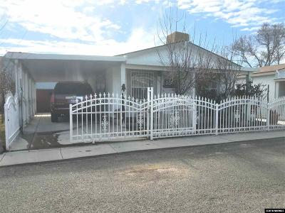 Reno Manufactured Home For Sale: 1448 Casa Linda Rd.