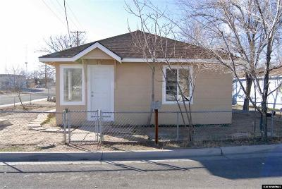 Fallon Single Family Home Active/Pending-Loan: 768 Mc Lean Street
