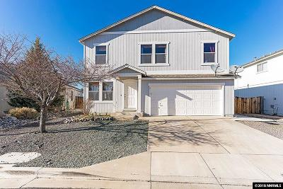 Reno Single Family Home Active/Pending-Loan: 9515 Autumn Leaf Way