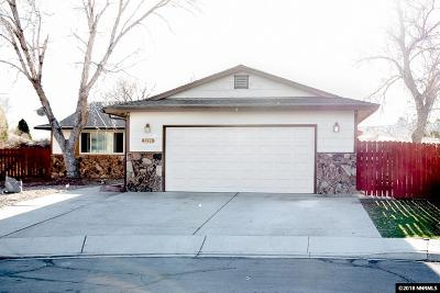 Sparks Single Family Home Active/Pending-House: 3229 Edna Ct