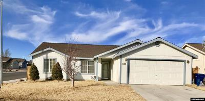 Fernley Single Family Home Active/Pending-Loan: 1558 Reese River