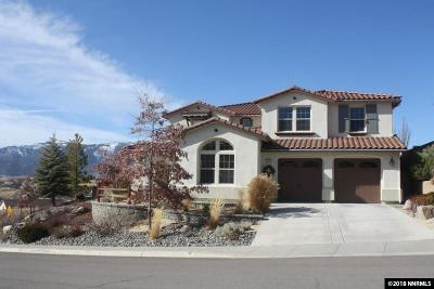 Washoe County Single Family Home Active/Pending-Loan: 1865 Scott Valley Rd