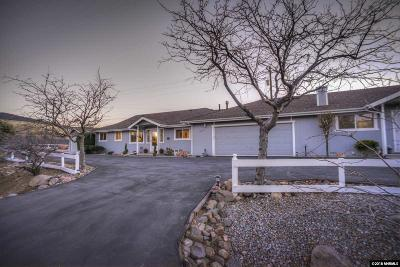 Washoe County Single Family Home Active/Pending-Loan: 15915 Toll Rd