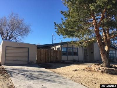 Reno Single Family Home Active/Pending-Call: 5220 Ural St.