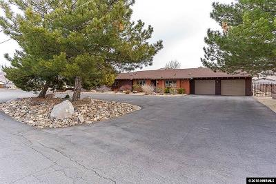 Carson City Single Family Home Active/Pending-Loan: 3537 Bigelow Drive