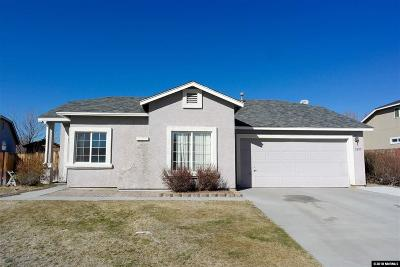 Sparks Single Family Home Active/Pending-Call: 3285 Genil Ct