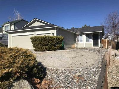 Sparks Single Family Home Active/Pending-Call: 30 Rusnak Court