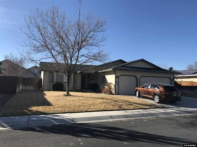 Fernley Single Family Home Active/Pending-House: 605 Nader Way