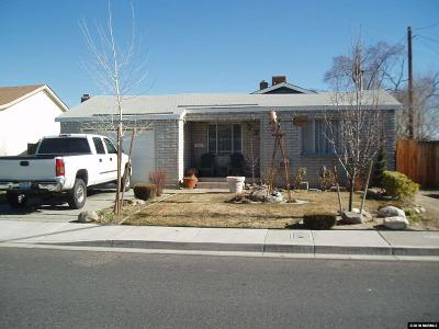 Reno Single Family Home Active/Pending-House: 1230 Wilkinson Ave