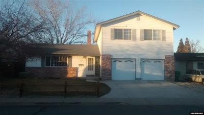 Sparks Single Family Home Active/Pending-Loan: 200 Abbay Way