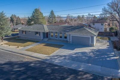 Washoe County Single Family Home Active/Pending-Call: 1530 Marsh