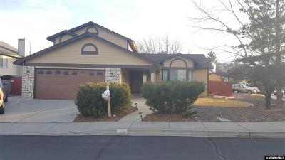 Reno Single Family Home Active/Pending-Loan: 6598 Springwood Dr