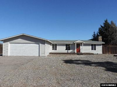 Gardnerville Single Family Home Active/Pending-House: 945 Como