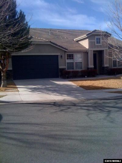 Sparks Single Family Home For Sale: 6281 Ten Mile Court