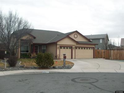 Sparks Single Family Home Active/Pending-Loan: 5074 Paseo Court