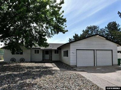 Reno Single Family Home Active/Pending-Call: 4675 Aster Drive