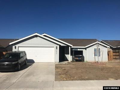 Fernley Single Family Home Active/Pending-Loan: 1572 Reese River Road