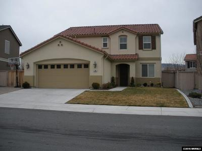 Reno Single Family Home For Sale: 10885 Pebble Hill Drive