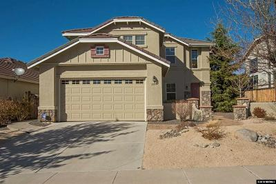 Sparks Single Family Home For Sale: 2928 Astronomer Way