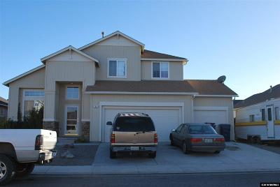 Fernley Single Family Home Active/Pending-House: 1421 Shadow Lane