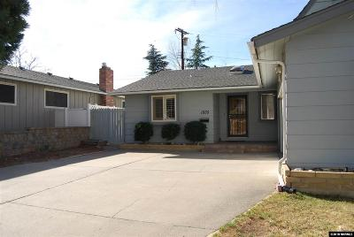 Washoe County Single Family Home Active/Pending-House: 1935 Humboldt Street