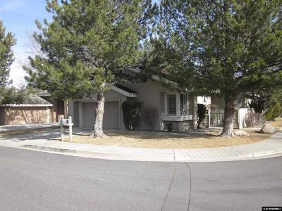 Washoe County Single Family Home For Sale: 1250 Creek Haven Circle