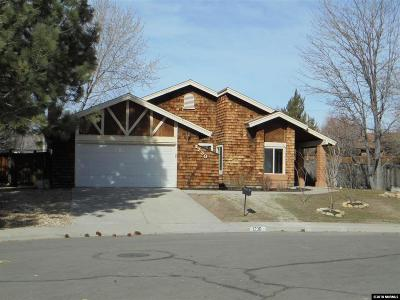 Carson City County Single Family Home Back On Market: 1230 Cabrolet Dr