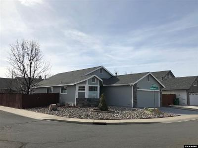 Carson City Single Family Home Active/Pending-Loan: 575 Greenbriar Dr