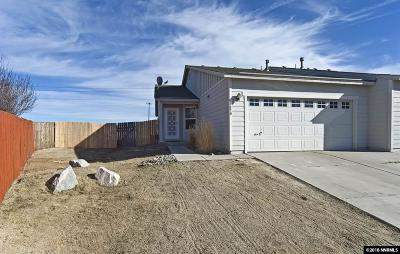 Reno Single Family Home Active/Pending-Loan: 8670 Umber Sky Ct