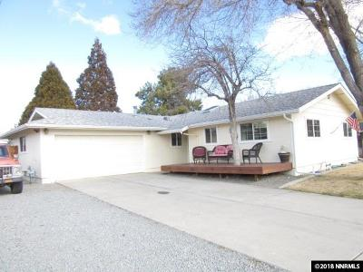 Carson City County Single Family Home For Sale: 1110 Sonoma Street